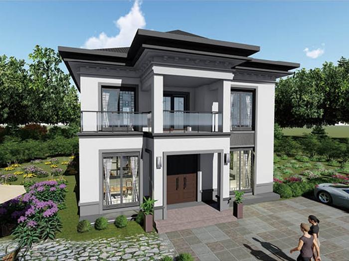 农村自建二层轻钢房屋