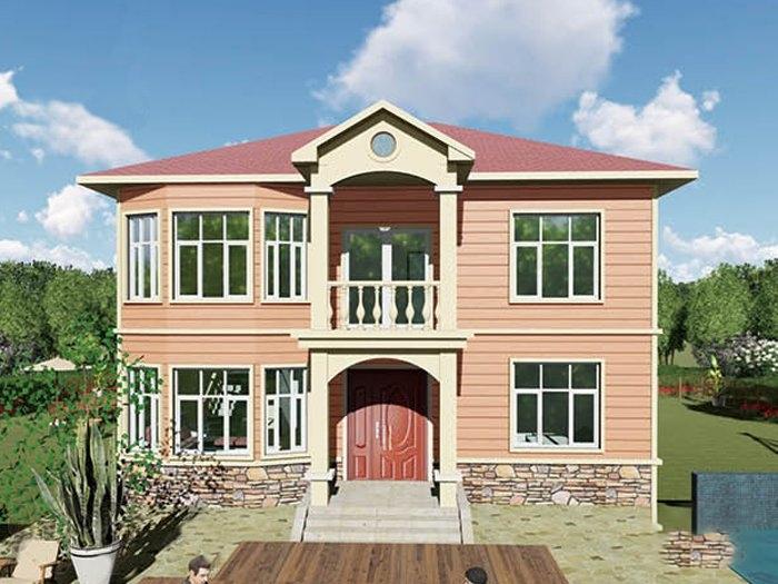 农村轻钢房屋二层