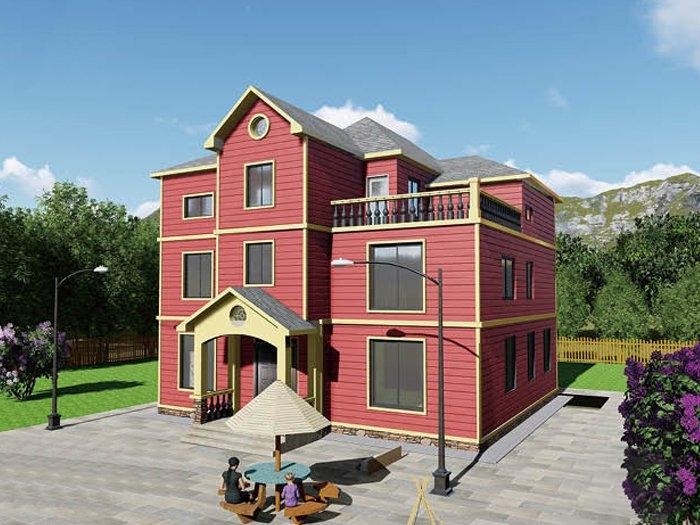农村轻钢房屋